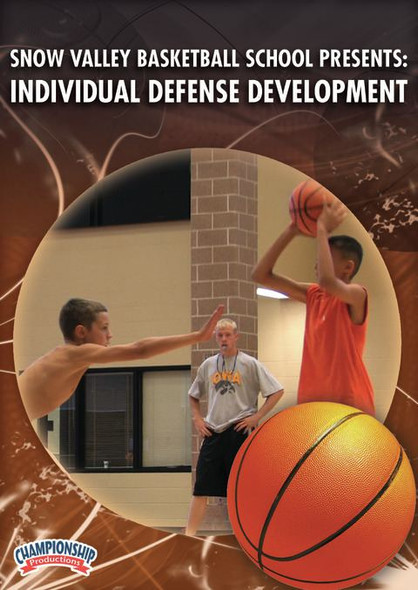 Snow Valley Basketball Camp Defensive Drills Video
