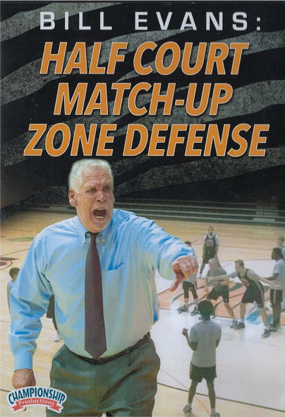 Half Court Match Up Zone Defense by Bill Evans Instructional Basketball Coaching Video