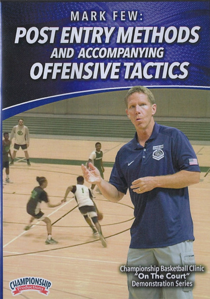 Post Entry Methods & Accompanying Offensive Tactics by Mark Few Instructional Basketball Coaching Video