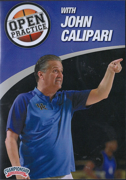 Open Basketball Practice with John Calipari by John Calipari Instructional Basketball Coaching Video
