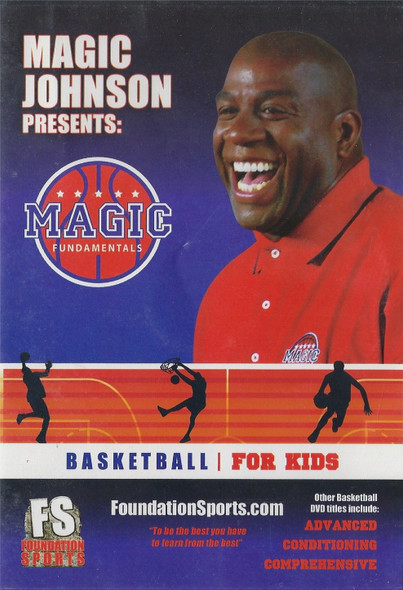 Magic Johnson's Basketball for Kids by Magic Johnson Instructional Basketball Coaching Video