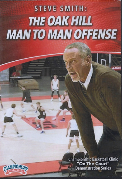 Oak Hill Man to Man Offense by Stephen Smith Instructional Basketball Coaching Video
