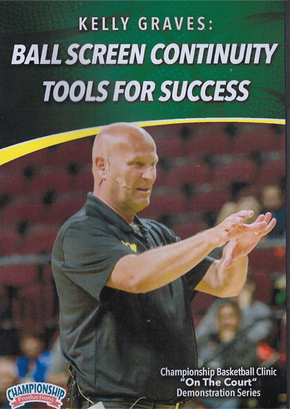 Ball Screen Continuity Tools for Success by Kelly Graves Instructional Basketball Coaching Video