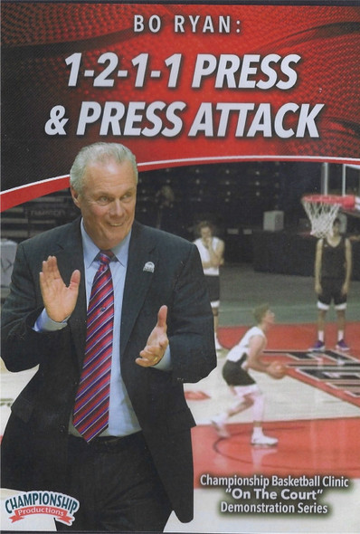 Bo Ryan's 1-2-1-1 Press & Press Attack by Bo Ryan Instructional Basketball Coaching Video