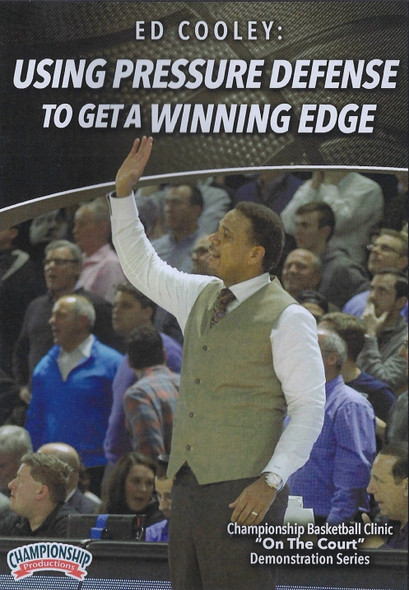 Using Pressure Defense to Get a Winning Edge by Ed Cooley Instructional Basketball Coaching Video