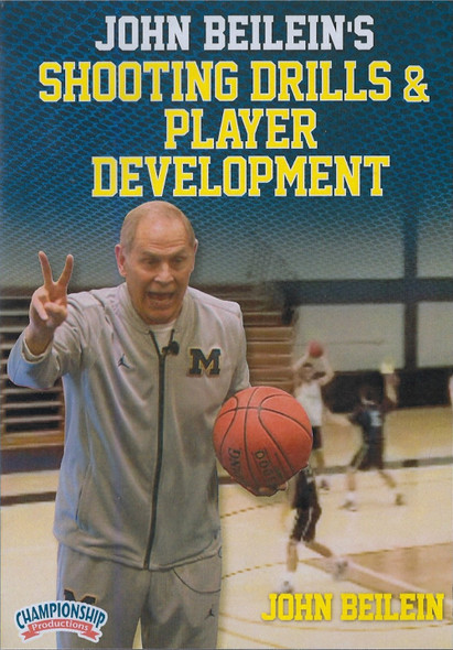 John Beilein's Shooting Drills & Player Development by John Beilein Instructional Basketball Coaching Video