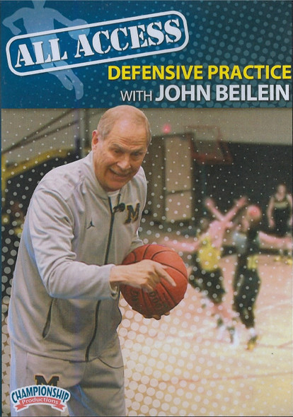 All Access Basketball Defensive Practice John Beilein by John Beilein Instructional Basketball Coaching Video