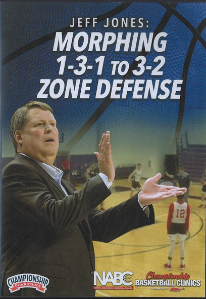 Morphing 1-3-1 to 3-2 Zone Defense by Jeff Jones Instructional Basketball Coaching Video