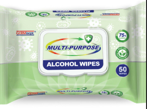Gerimisept Alcohol Wipes to Kill Covid-19