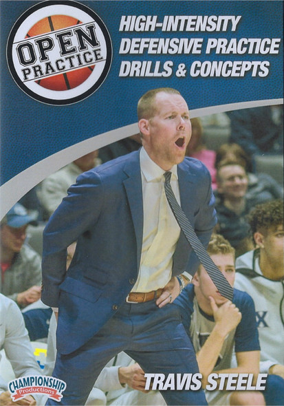 High Intensity Defensive Practice Drills & Concepts by Travis Steele Instructional Basketball Coaching Video