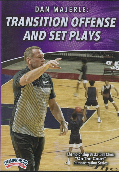 Dan Majerle: Transition Offense & Set Plays by Dan Majerle Instructional Basketball Coaching Video