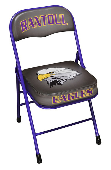 custom sideline chair basketball