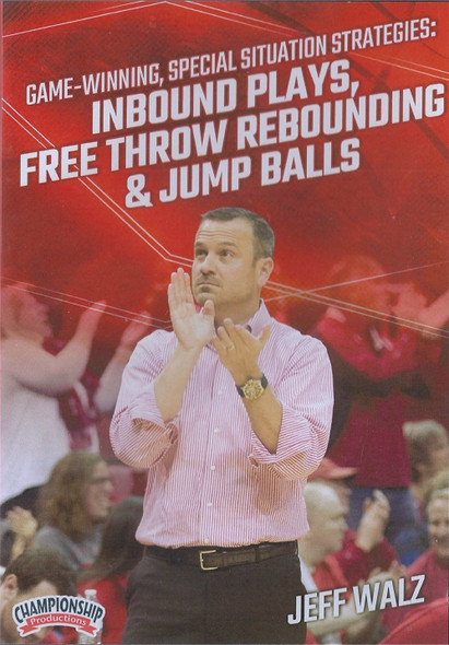 Inbound Plays, Free Throw Rebounding, & Jump Balls by Jeff Walz Instructional Basketball Coaching Video