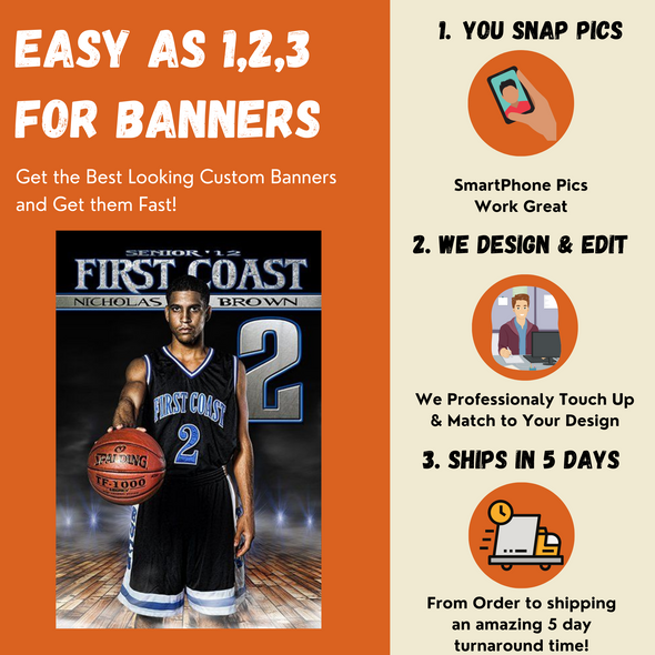 Super FX Custom Sports Player Banners