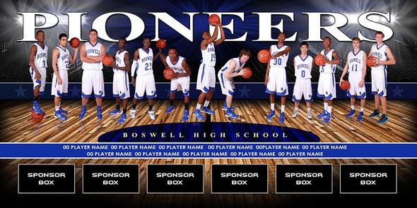 Custom Sports Team Banners Basketball