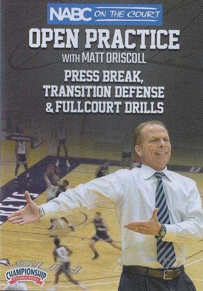 Press Break, Transition Defense, & Fullcourt Drills by Matt Driscoll Instructional Basketball Coaching Video
