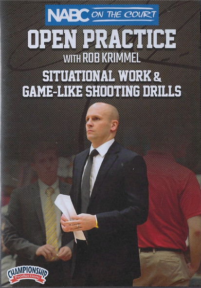 Situational Work & Game-Like Shooting Drills by Rob Krimmel Instructional Basketball Coaching Video