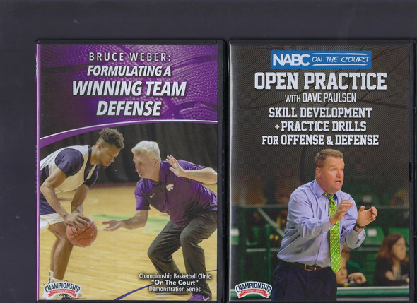 Basketball Skill Development & Practice Drills for Offense & Defense by Dave Paulsen Instructional Basketball Coaching Video