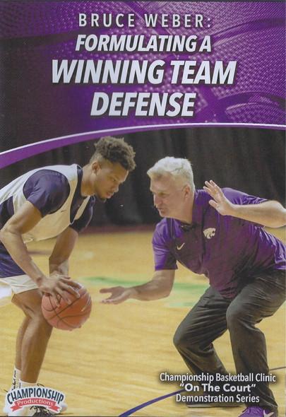 Formulating a Winning Team Defense by Bruce Weber Instructional Basketball Coaching Video