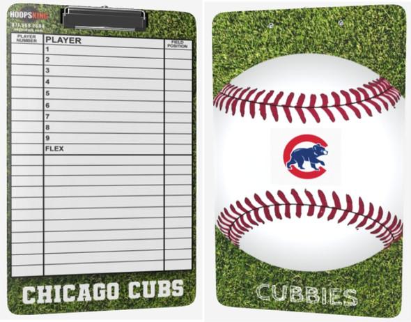 custom baseball softball coaching clipboard lineup