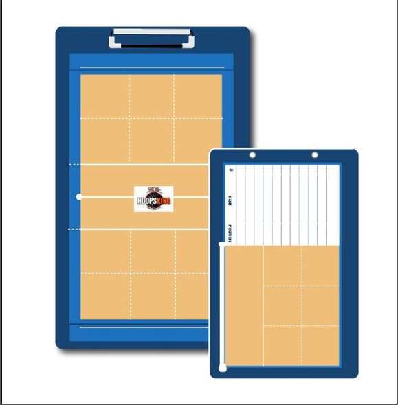Custom volleyball coaching gift personalized dry erase board