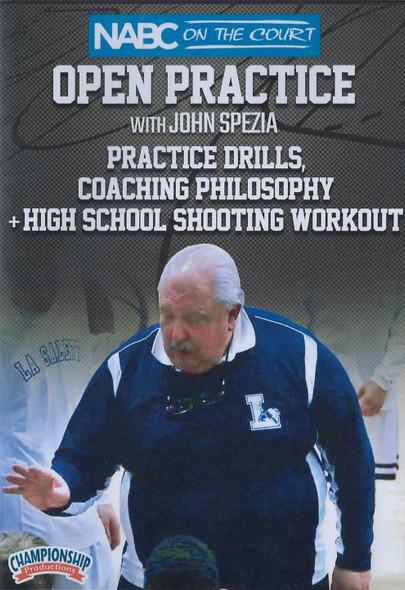 Basketball Practice Drills, Coaching Philosophy, & High School Shooting Workout by John Spezia Instructional Basketball Coaching Video