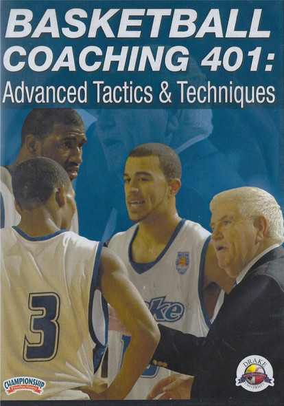 Basketball Coaching 401: Advanced Basketball Tactics & Techniques by Tom Davis Instructional Basketball Coaching Video