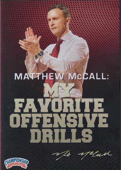 Matthew McCall: My Favorite Basketball Drills by Matthew McCall Instructional Basketball Coaching Video