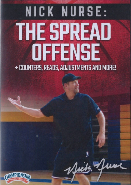 Nick Nurse: The Spread Offense for Basketball by Nick Nurse Instructional Basketball Coaching Video