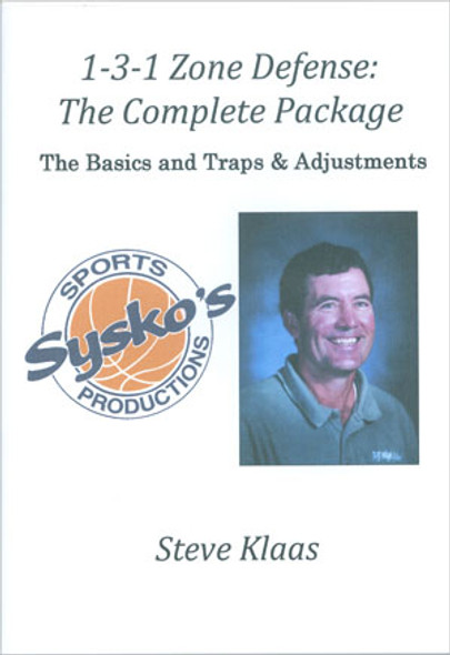 Basketball defense DVDs - 1-3-1 Zone Defense Complete DVD Package