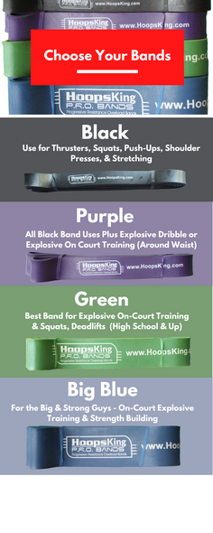 HoopsKing PRO Resistance Training Bands
