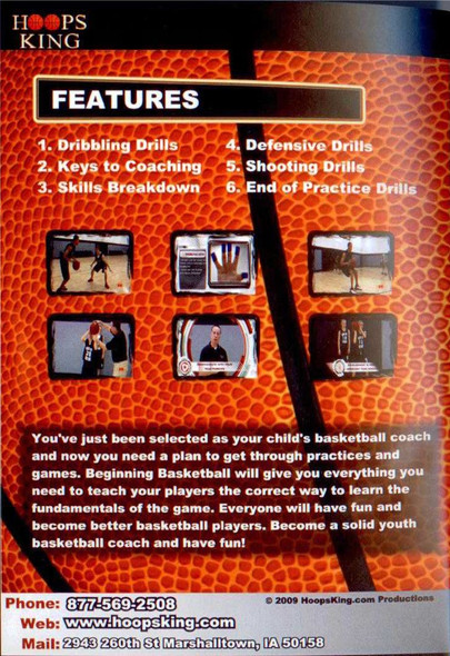 youth basketball coaching video dvd for sale