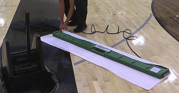 how to clean basketball floors