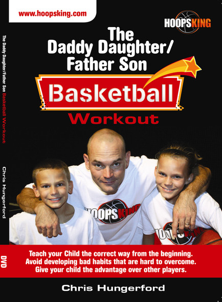 daddy daughter father son basketball