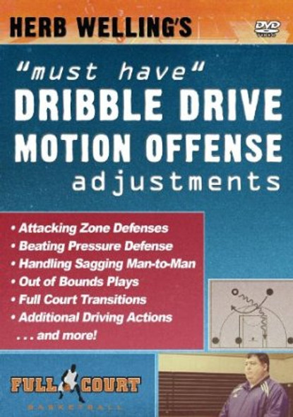 Dribble Drive Adjustments Herb Welling