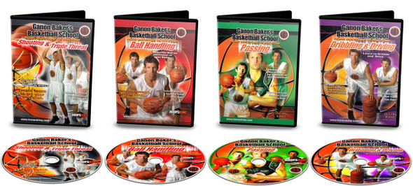 Ganon Baker Homework Basketball Training DVDs