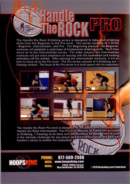 Handle the Rock Pro Dribbling
