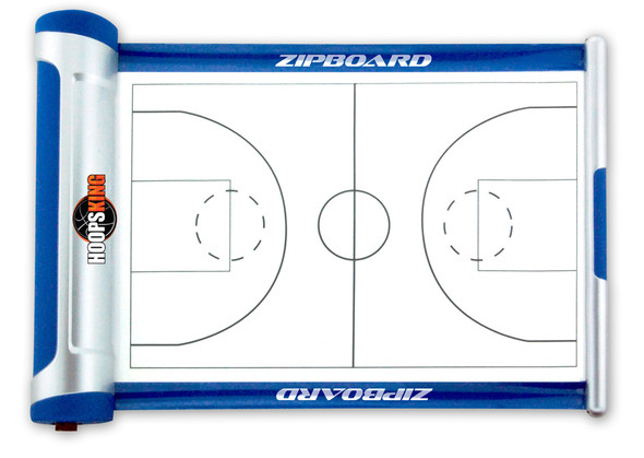 HoopsKing Basketball Coaching Board Zipboard