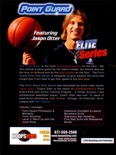 Jason Otter Point Guard Elite videos.