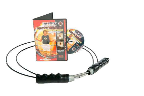 Develop explosive footwork and speed with Jason Otter's Jump Rope DVD and a speed rope.