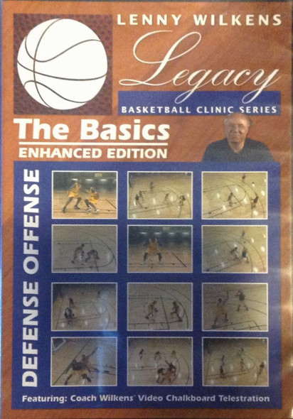 Lenny Wilkens The Basics by Lenny Wilkins Instructional Basketball Coaching Video