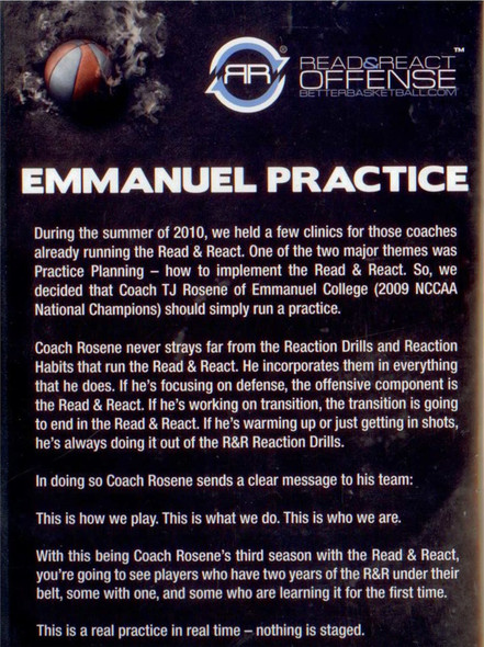(Rental)-Read & React Emmanuel College Practice