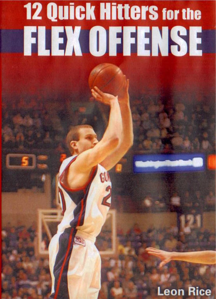 12 Quick Hitters For The Flex Offense by Leon Rice Instructional Basketball Coaching Video