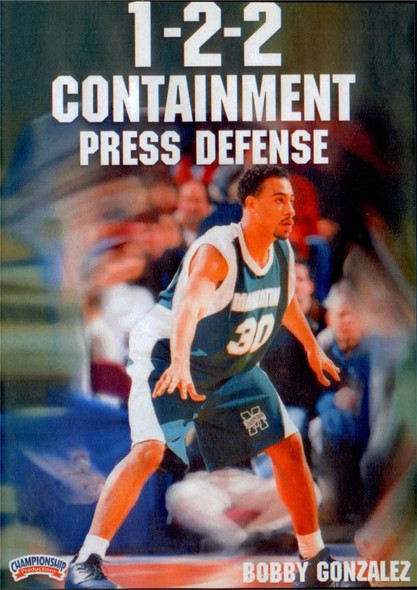 1--2--2 Containment Press Defense by Robert Gonzalez Instructional Basketball Coaching Video