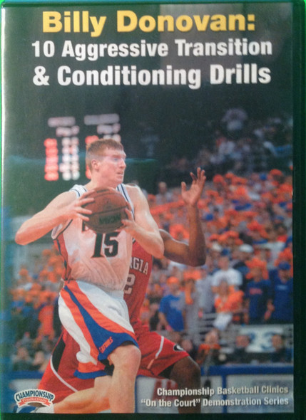 10 Aggressive Transition & Conditioning Drills by Billy Donovan Instructional Basketball Coaching Video