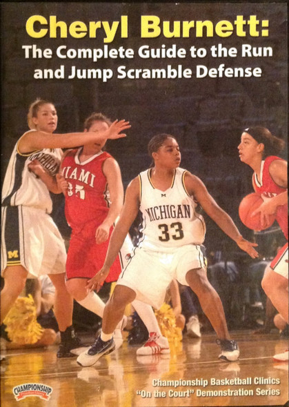 The Complete Guide To The Run & Jump by Cheryl Burnett Instructional Basketball Coaching Video