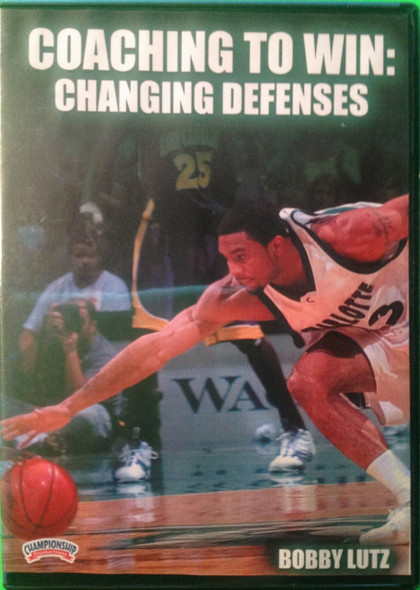 Changing Defenses by Bobby Lutz Instructional Basketball Coaching Video