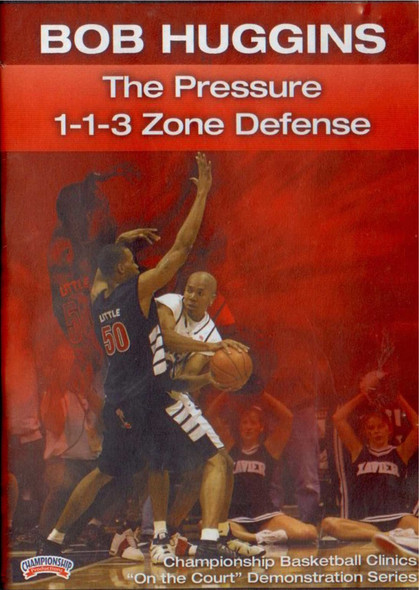 Pressure 1-1-3 Zone Defense by Bob Huggins Instructional Basketball Coaching Video