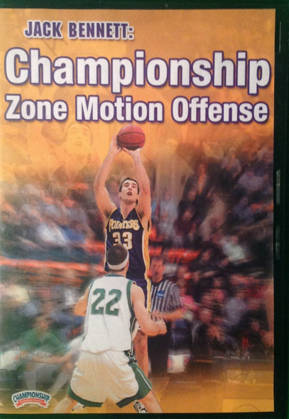 Championship Zone Offense by Jack Bennett Instructional Basketball Coaching Video