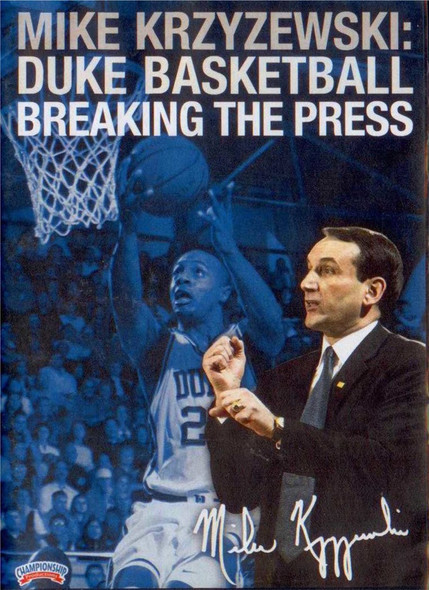 Breaking The Press by Mike Krzyzewski Instructional Basketball Coaching Video